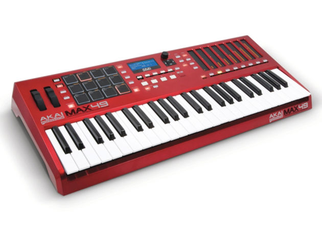 Akai's Max49 looks to the past as well as the future.