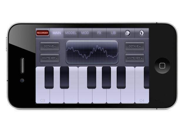 Christian Bacaj Electronic Piano Synthesizer XS, £0.69