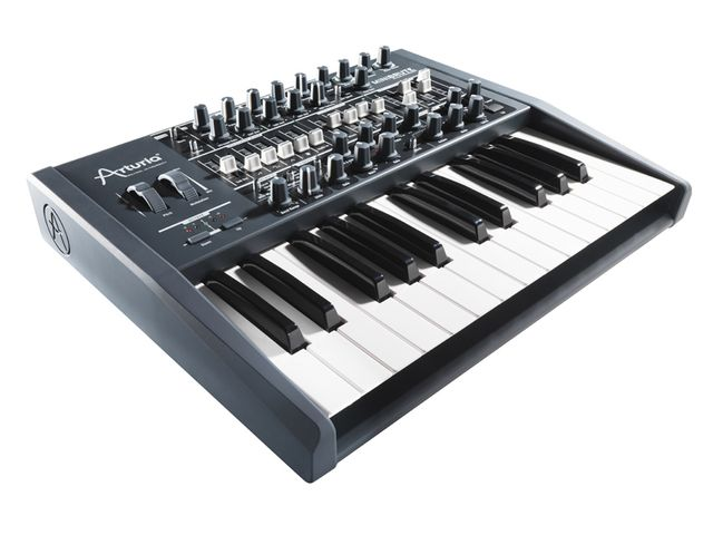 Even plug-in lovers might be tempted by Arturia's affordable Minibrute analogue synth.