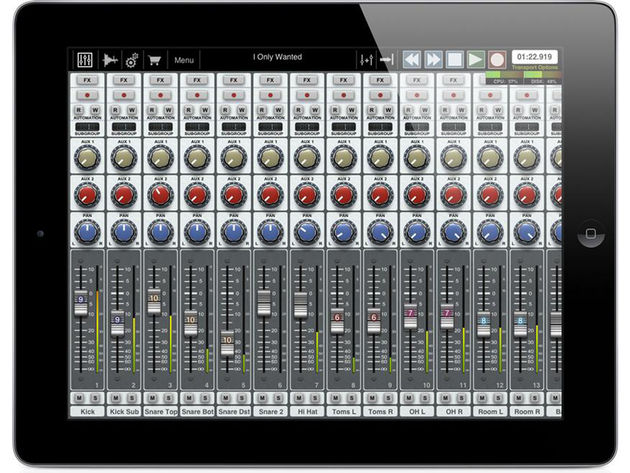 Auria for iPad: let's hope its performance can match its specs.