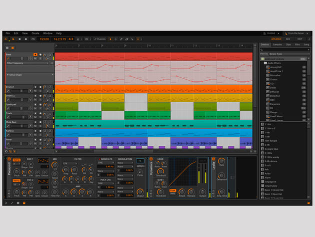 Bitwig Studio: click the image for a gallery of screenshots.