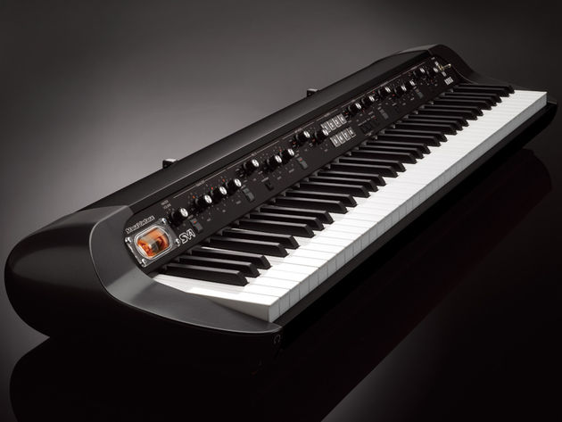 The new SV-1 adds a matt-black stage finish…