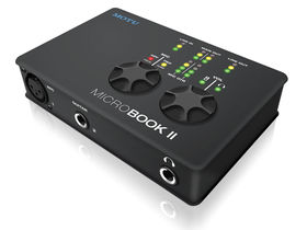 MOTU MicroBook II: portable audio interface updated