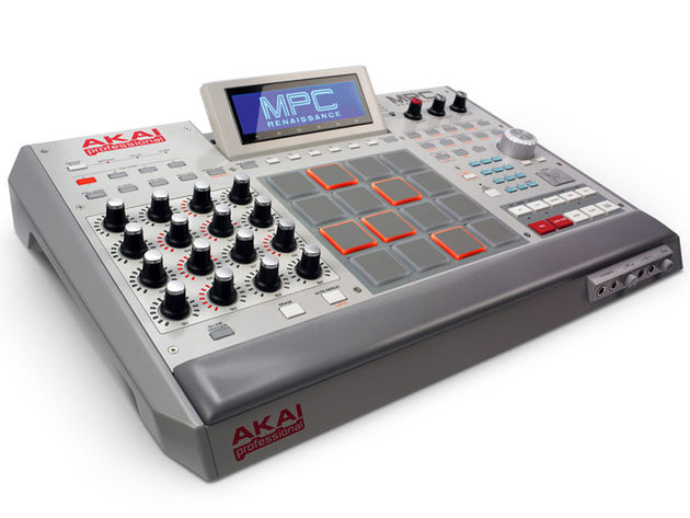 The Akai MPC Renaissance: click the image for more product shots.