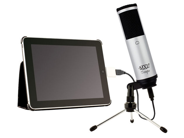 The Tempo is equally suited to recording vocals or podcasts, or web and video chat.