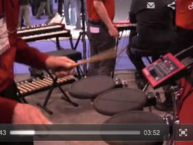 NAMM 2012 VIDEO: Nord Drum demoed
