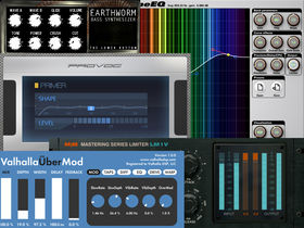 VST/AU plug-in instrument/effect round-up: Week 34