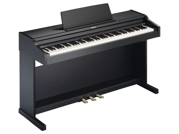 Roland's RP301R in Satin Black finish.
