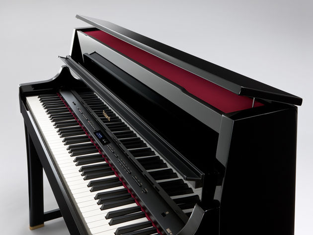 The LX-15 offers an expanded built-in piano selection.