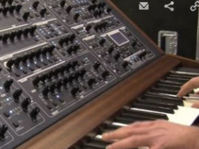 The epic synth put through its paces