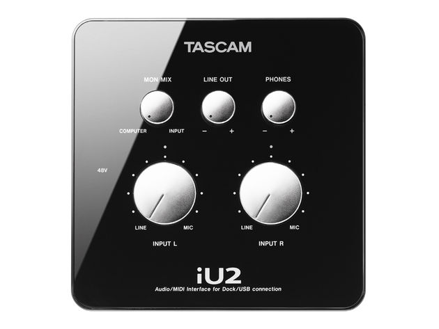 The iU2's zero-latency monitoring path means musicians can hear themselves without annoying delay.