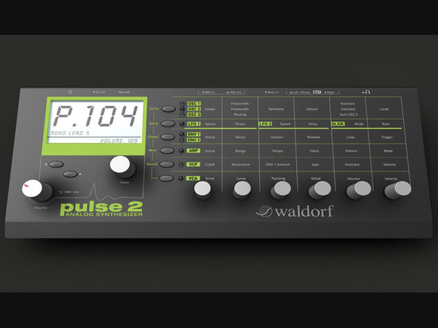 Waldorf Pulse 2: click the image for more shots.