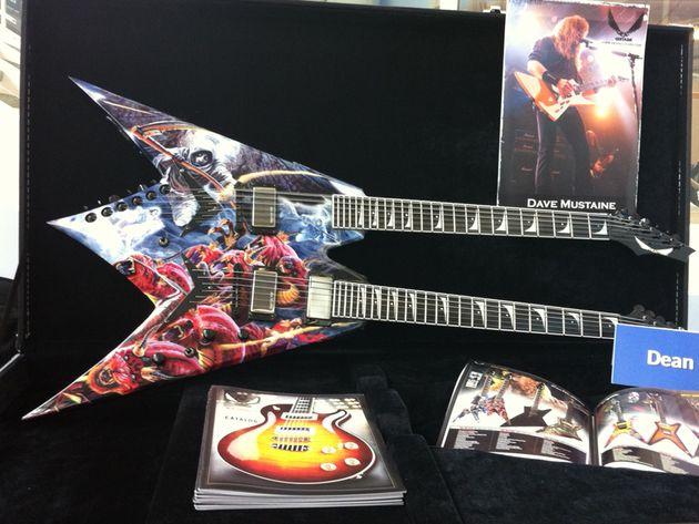 Dean Dave Mustaine guitar