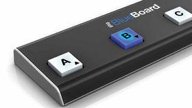 iRig BlueBoard: programmable iOS MIDI pedalboard