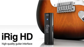 IK Multimedia unveils iRig HD iOS audio interface