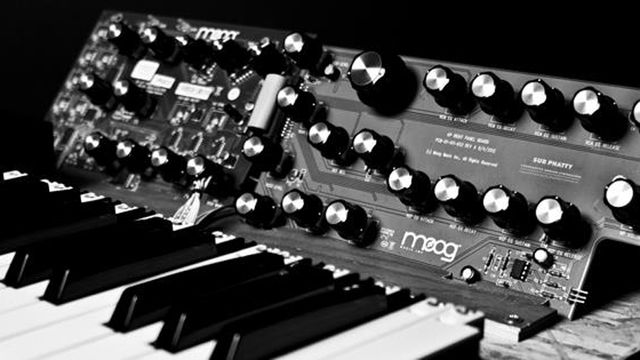 Moog Sub Phatty: well, we're assuming that's what it's called.