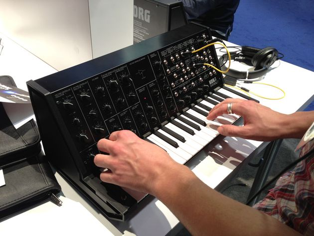 Korg MS-20 mini analogue synth announced