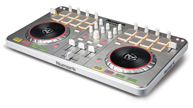 Mixtrack II's extensive layout of DJ controls includes automatic beat sync, hot cues, and looping