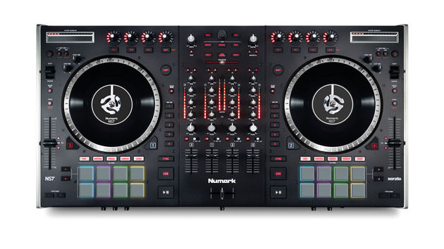 NS7 II features four channels, 16 backlit RGB velocity-sensitive Akai MPC pads and the most comprehensive integration for Serato DJ available