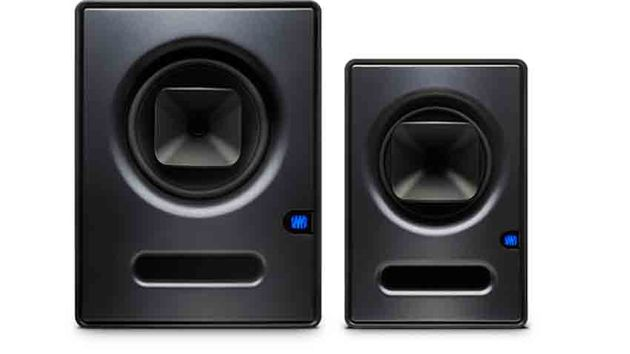 The Sceptre S8 CoActual monitor (left) features an 8 inch low driver, while the S6 (right) utilises a 6.5 inch
