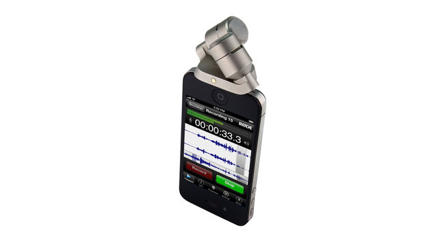 "Rode's iXY is being billed as the ""ultimate recording microphone for iPhone or iPad"""