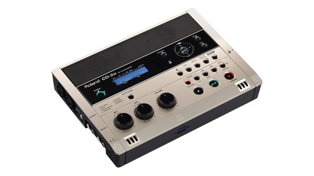 Roland CD-2u: mobile recording made easy, apparently.