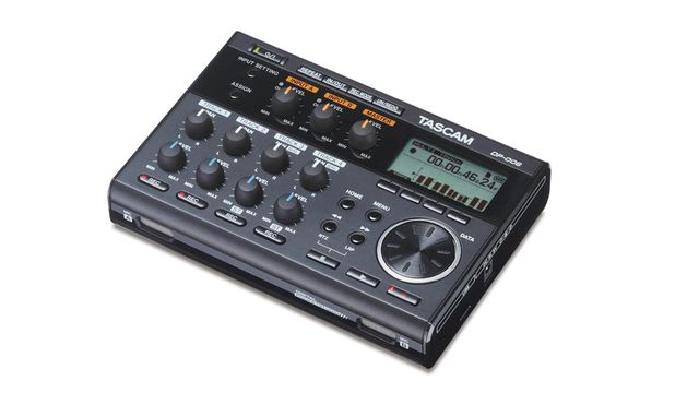 Tascam's DP-006 gives you six tracks to work with.