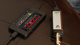 Apogee releases Jam 96k audio interface for iOS and Mac