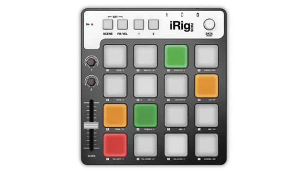 iRig Pads: not here yet, but on the way.