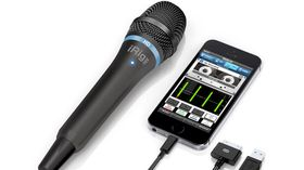 NAMM 2014: IK Multimedia shows off enhanced iRig Mic HD