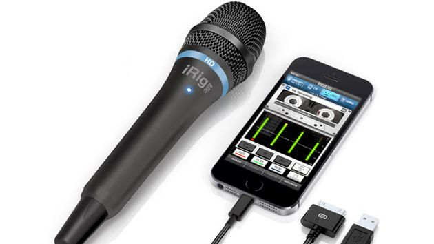 The iRIg Mic HD can plug into iOS devices and your Mac.