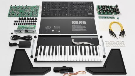 Korg MS-20 kit components