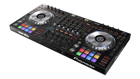 The DDJ-SZ is bigger than previous Pioneer controllers.