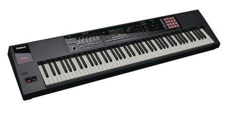 "The Roland FA-08 is designed to ""maximise your creative flow""."