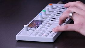 NAMM 2014 VIDEO: Teenage Engineering OP-1 OS update