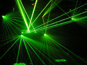 Russian ravers blinded by lasers