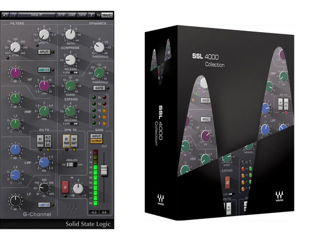There are now four plug-ins the SSL 4000 Collection.