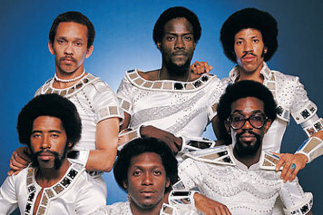 The Commodores: their music has aged better than their clothes.