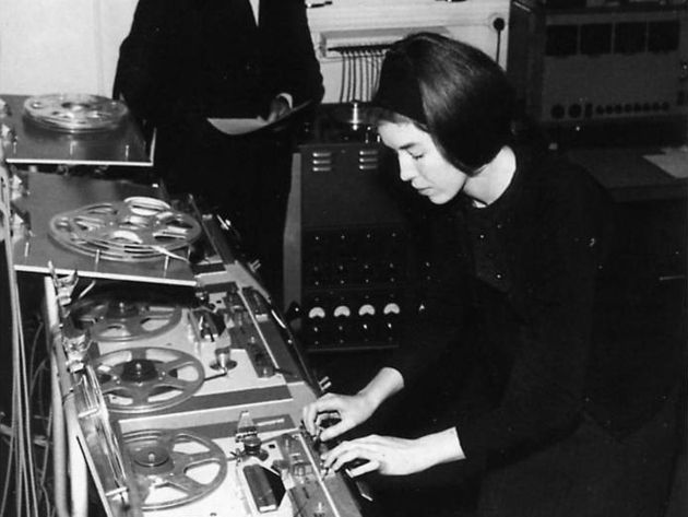 The original version of the Doctor Who theme was concocted by Delia Derbyshire.