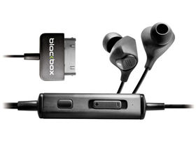 Blackbox announces noise-cancelling in-ear iPhone/iPod headphones