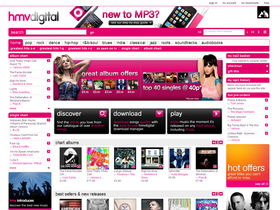 HMV finally launches download store