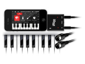 Summer NAMM 2011: IK Multimedia unveils iRig MIDI, SampleTank for iOS