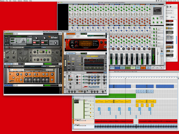 Reason 6 brings Propellerhead's two big products together. Click the image for more screenshots.