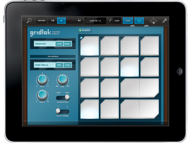 The Gridlok pad sampler