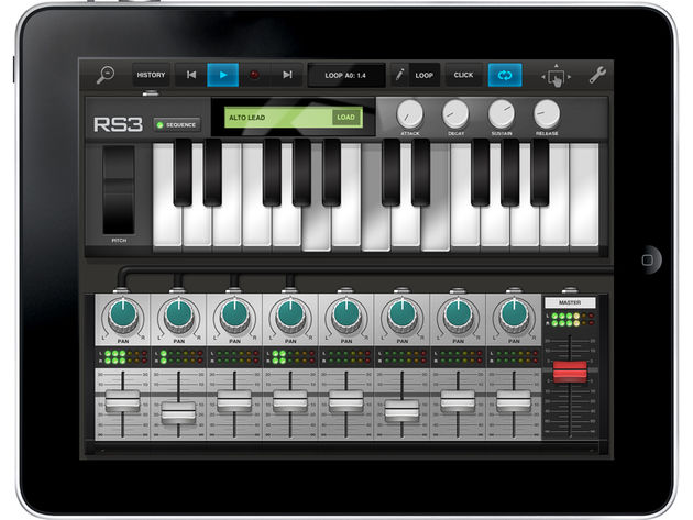 The RS3 polyphonic keyboard