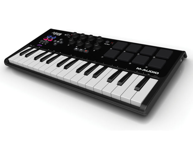M-Audio Axiom A.I.R.: the 32-note model has mini keys.