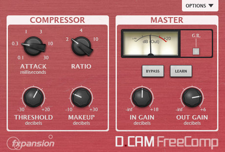 FXpansion dcam freecomp