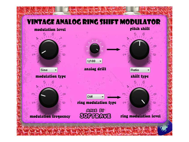 Softrave Vintage Analog Ring Shift Modulator