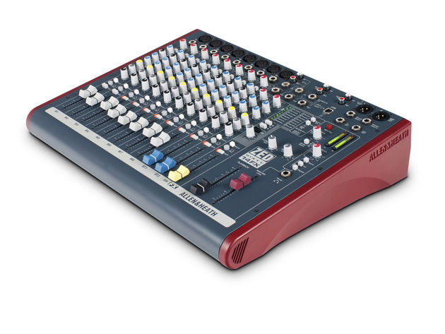 Allen & Heath's XED60-14FX features 60mm faders.
