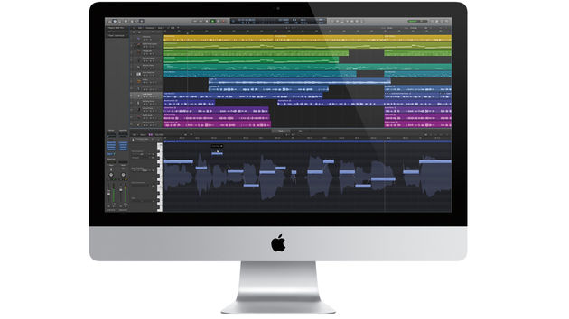 Logic Pro X features a streamlined UI.